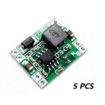 Оригинал              5 PCS 7V-28V to 5V 3A Mini BEC Module регулятор напряжения для контроллера полета Gimbal