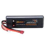Оригинал              DINOGY GRAPHENE 7,4 В 4500 мАч 2S 80C T Plug Lipo Батарея для RC Авто