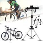 Оригинал              BIKIGHT Стальная стойка для ремонта велосипедов, рабочая стойка для механики, горные велосипеды, Stand Holder