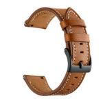 Оригинал              22 мм универсальные сменные часы Винтаж Натуральная Кожа Стандарты ремешок для часов Haylou Солнечная LS05