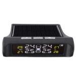 Оригинал              Датчики системы контроля давления в шинах TPMS в реальном времени Дисплей Солнечная Питание от USB