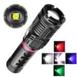 Оригинал              XANES® 1680 2500LM XHP90 + COB + RGB 10-режимный сверхяркий масштабируемый фонарик LED с боковым освещением Мощный охотничий поисковый фонарь