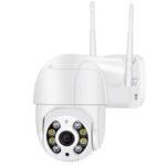 Оригинал              BESDER 3 мегапикселя 8 светодиодов Smart WIFI Скорость Dome камера 4x PTZ 1080P Цветное ночное видение IP66 На открытом воздухе Домашняя безопасность Монито