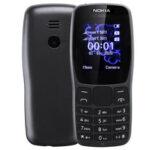 Оригинал              Nokia 110 800 мАч 1,77 дюйма с задней панелью 8 Вт камера Фонарик FM Радио Телефон с двумя SIM-картами и двойным режимом ожидания