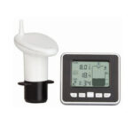 Оригинал              Ультразвуковой измеритель уровня жидкости Датчик цистерны с водой Монитор цифров LCD Дисплей Часы