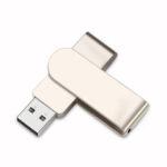 Оригинал              U&H JSXZ2.0 Mini USB 2.0 32GB 64GB USB Flash Накопитель Диск с памятью Металлический портативный U-образный диск с вращением на 360 °, адаптированный для подарк