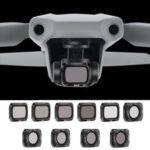 Оригинал              STARTRC камера Объектив Комбинированный фильтр Водонепроницаемы Регулируемый УФ + CPL + ND4 / 8/16/32 NDPL Набор для DJI Mavic Air 2 Дрон