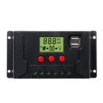 Оригинал              10-60A 12В / 24В PWM LCD Солнечная Контроллер зарядного устройства Солнечная Панель Батарея Двойной USB
