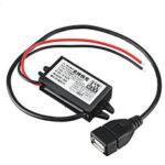 Оригинал              3 шт. Водонепроницаемы преобразователь постоянного тока в постоянный ток 6-32 В до 5V 9 В, 12 В, 24 Вт, модуль питания с быстрой зарядкой, поддержка