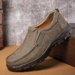 Оригинал              Menico Мужская легкая удобная повседневная обувь с защитой от скольжения