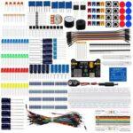 Оригинал              Geekcreit DIY Electronics Basic Starter Набор Макетная Jumper Провода Резисторы Зуммер для UNO R3 Mega2560