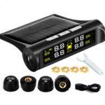 Оригинал              Беспроводная система Солнечная TPMS LCD Авто Система контроля давления в шинах + 4 внешних Датчик