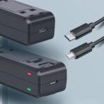 Оригинал              Ruigpro Батарея Зарядное устройство 9V 2A USB / Type-C Двойная база для быстрой зарядки для Insta360 One R камера