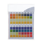 Оригинал              100 шт. / Коробка PH тест-полоски Прецизионные четырехцветные сравнительные полоски для измерения качества питьевой воды 0-14 PH