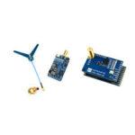 Оригинал              MATEK Systems VTX-1G3-9 1.2Ghz 1.3Ghz 9CH International INTL Version FPV Видео передатчик с VRX-1G3-V2 1.2 / 1.3GHz 9CH Wid Стандарты FPV Видео Приемник