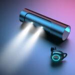 Оригинал              T8 TWS Bluetooth 5.0 Наушник Сенсорное управление Long Батарея Life IPX7 Водонепроницаемы Наушники Спортивная гарнитура Беспроводные наушники с микрофо