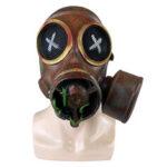 Оригинал              Хэллоуин вечерние полный Латекс Маска стимпанк ретро газ Маска костюмы для косплея