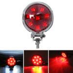 Оригинал              Универсальные мотоциклы Задний Лампа Алюминиевый сплав LED Ретро сигнал Лампа