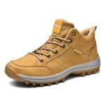 Оригинал              Мужская кожа из микрофибры На открытом воздухе нескользящая повседневная походная обувь
