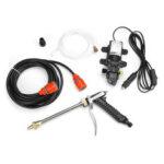 Оригинал              12V 100W Бытовая Авто Wash Насос Портативный спрей для электрической мойки высокого давления Инструмент