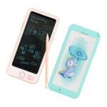 Оригинал              6 дюймов форма телефона LCD письменный планшет для рисования электронные блокноты для офиса доска развивающие игрушки поставки